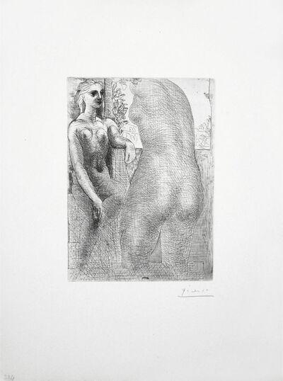 Pablo Picasso, 'Marie-Thérèse regardant son Corps sculpté (S.V. 73)', 1933