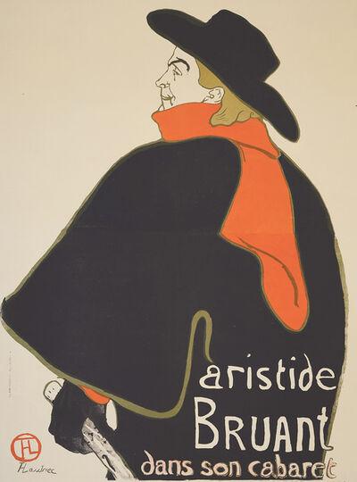 Henri de Toulouse-Lautrec, 'Aristide Bruant Dans Son Cabaret.', 1893
