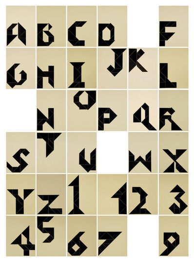 Anna Barham, 'Step Into Tangram Rule / Henry Dudeney (Strand Magazine, London 1908-1917)', 2008-2010