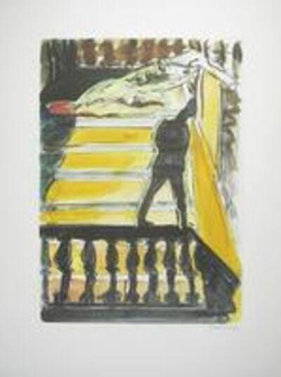 Norbert Tadeusz, 'o.T. Mann auf Balustrade betrachtet Akt', 1980-2020