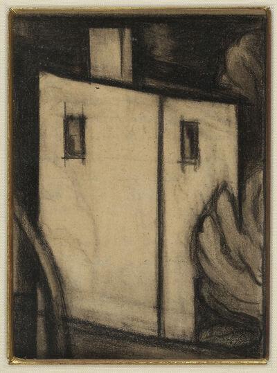 """Oscar Bluemner, 'Study for """"In Scarlet and Black""""', 1932"""