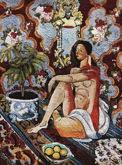 Vik Muniz, 'Decorative Figure on Ornamental Background, After Matisse (From Pictures of Pigment)', 2006