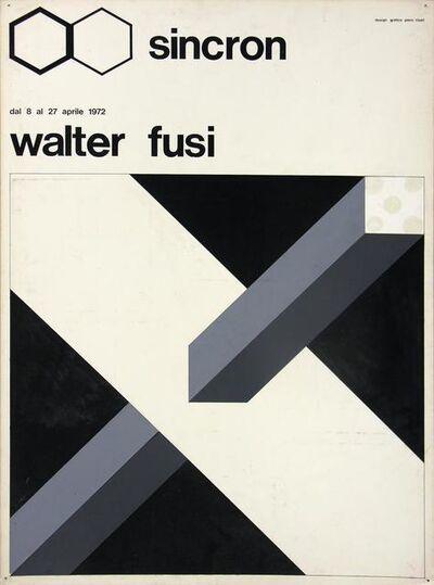Walter Fusi, 'Bozzetto Sincron', 1972