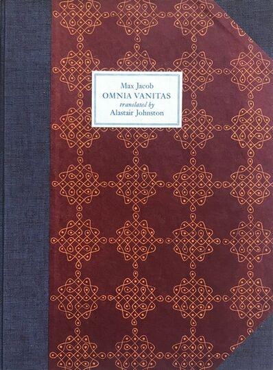 Thyrsus Press, 'Omnia Vanitas', 2018