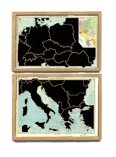 Juan José Martín Andrés, 'Serie: The Comparative Atlas. London 1948 GERMANY AND CENTRAL EUROPE, ITALY AND THE BALKANS', 2017
