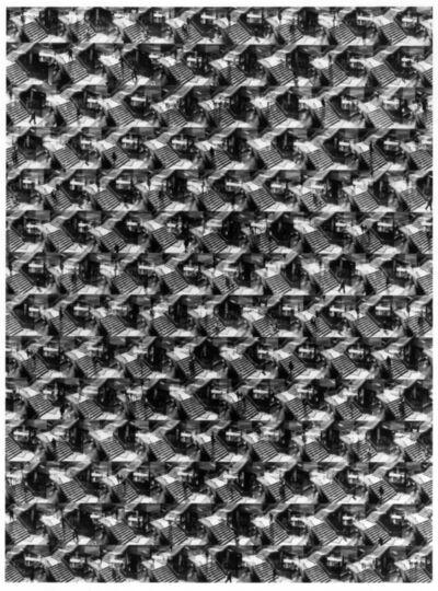 Ray K. Metzker, 'A Maze in Philadelphia', 1966/1984