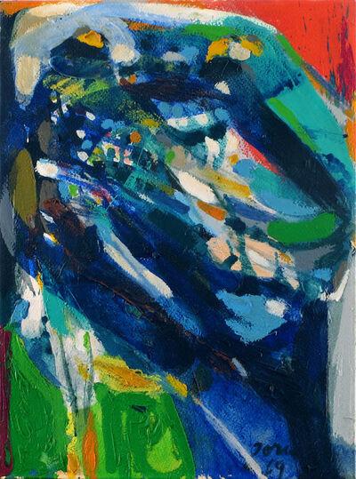 Asger Jorn, 'Blide linier', 1969