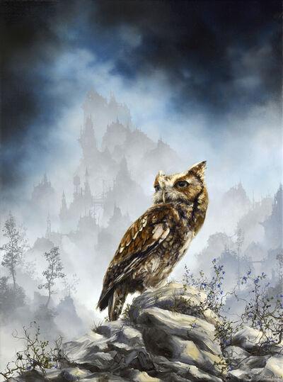 Brian Mashburn, 'Red Morph Eastern Screech Owl'