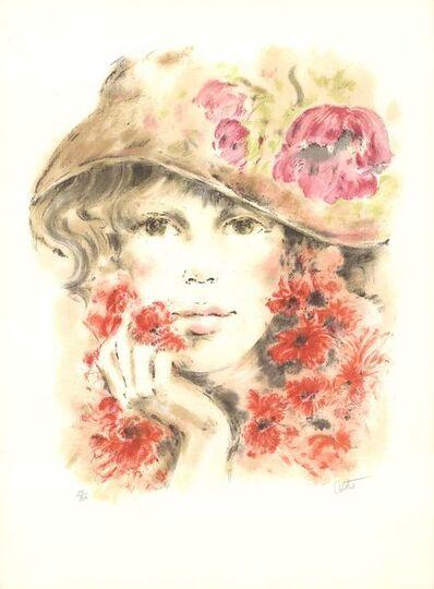 Colette Darfeuil, 'Colette avec Chapeau', 1988