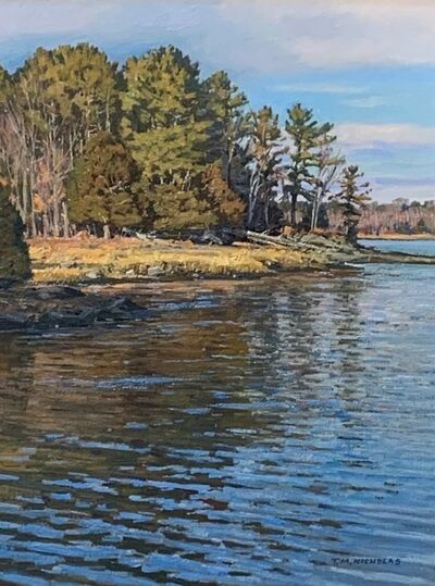 TM Nicholas, 'Edge of the Marsh', 2021