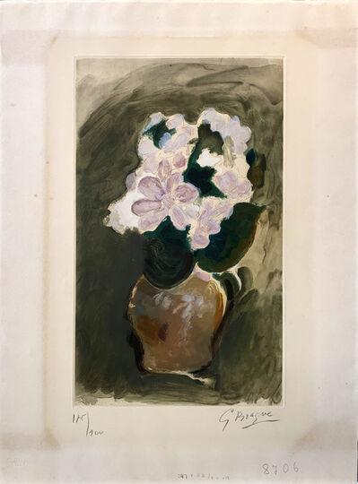 Georges Braque, ' Le Bouquet rose', 1955
