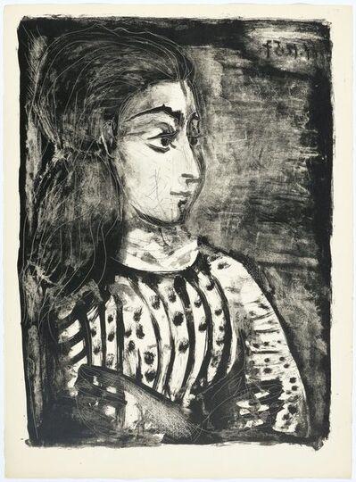 Pablo Picasso, 'Jacqueline de profil', 1958