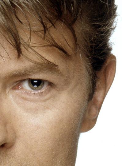 Terry O'Neill, 'David Bowie eyes (right half)', ca. 1970