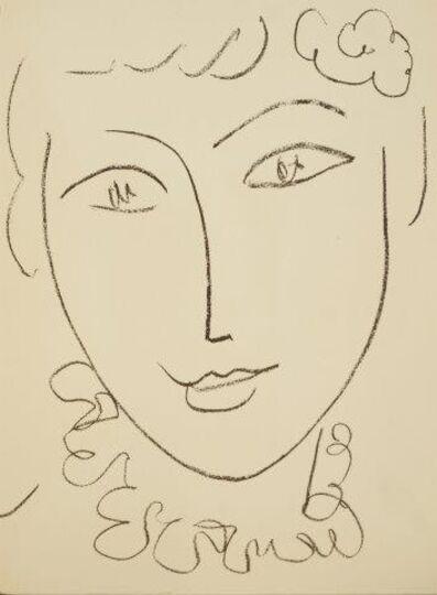 Henri Matisse, 'Portraits by Henri Matisse', 1954