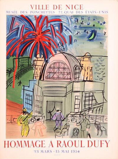 Raoul Dufy, 'Hommage a Raoul Dufy', 1954