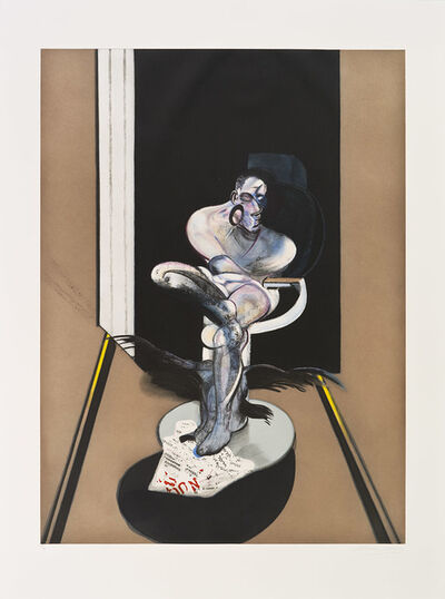 Francis Bacon, 'Seated Figure', 1992