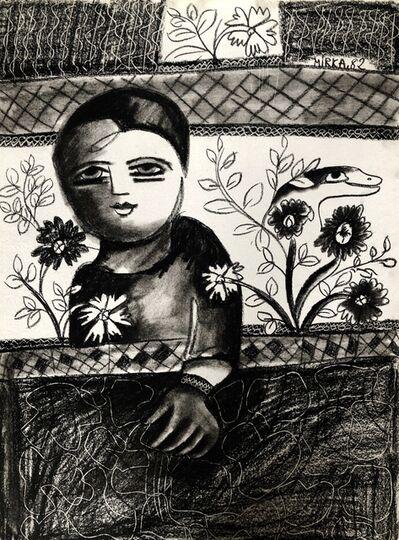 Mirka Mora, 'Talking To My Garden', 1982