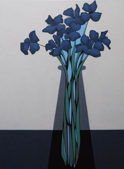 Grant William Thye, 'Blue Flowers', 2019