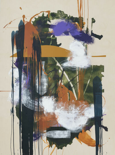 Elizabeth Neel, 'Velvet Head', 2018