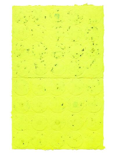 Shinro Ohtake, 'Yellow Wall 1', 2015