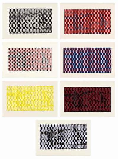 Roy Lichtenstein, 'HAYSTACK #1-7', 1969