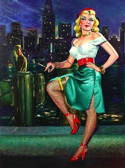 Rudy Nappi, 'Cover for Illicit Pleasure', 1950