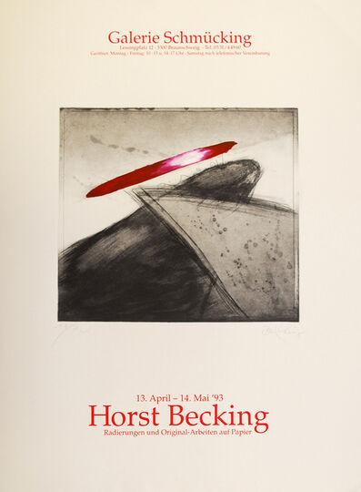 Horst Becking, 'Radierungen und Original-Arbeiten auf Papier', 1993