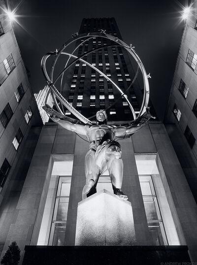 Andrew Prokos, 'Rockefeller Center Atlas at Night ', ca. 2007