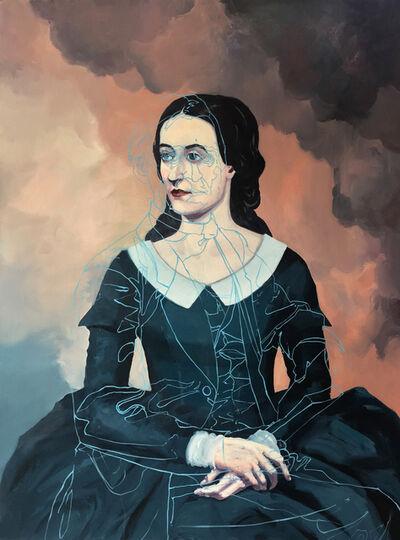 Melora Kuhn, 'Ralph's mark on Margaret', 2016