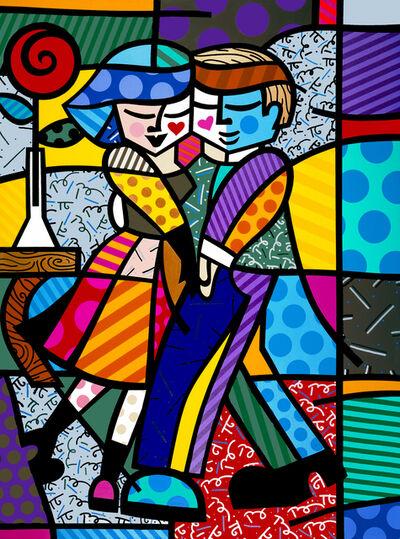 Romero Britto, 'Cheek To Cheek', 1999