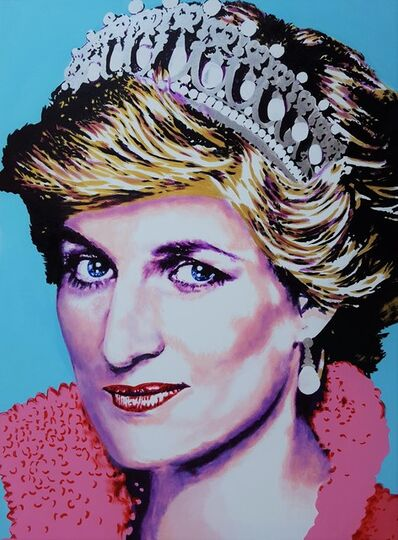 Jack Graves III, 'Princess Diana Icon III', 2019