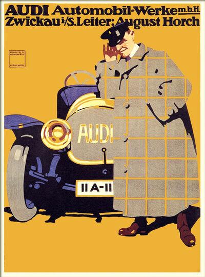 Ludwig Hohlwein, 'AUDI AUTOMOBIL-WERKE', 1912