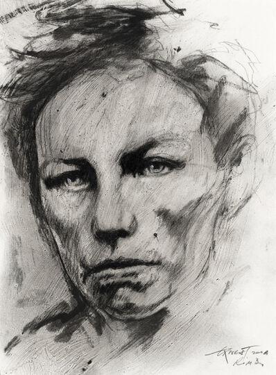 Ernest Pignon-Ernest, 'Etude pour Rimbaud', 2004