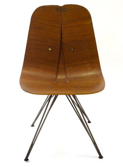 Iver Bertelsen, 'Bent Plywood Swivel Chair', 1945