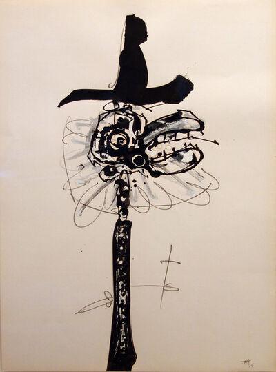 Antonio Saura, 'Caballero', 1968
