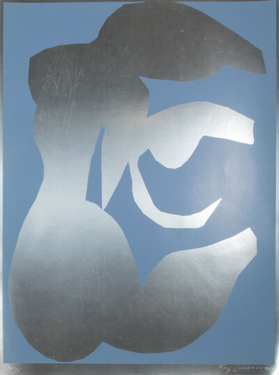 Fay Lansner, 'Silver and Blue', 1968