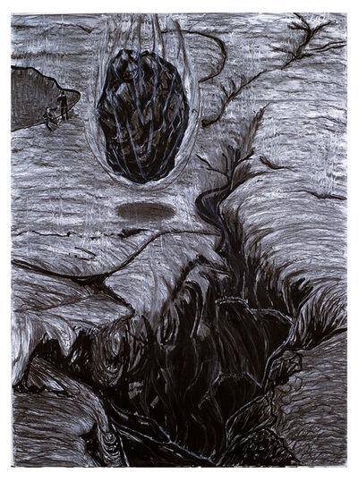 Helen Oji, 'Volcano Series #41, Earth Cracks', 1983