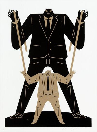 Cleon Peterson, 'Little Man Big Man / Putin - Gold', 2018