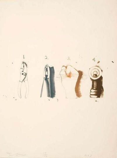 Jim Dine, 'Nutcracker', 1973