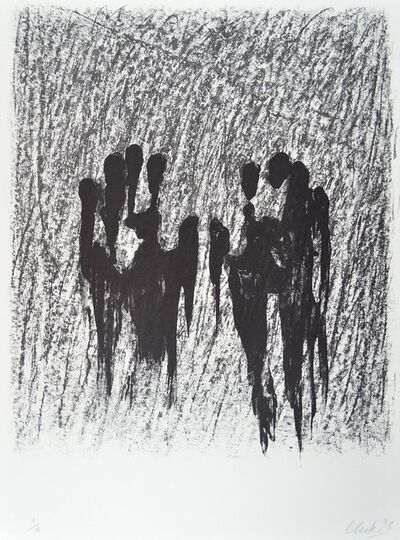 Günther Uecker, 'Waldshut', 1990-2000