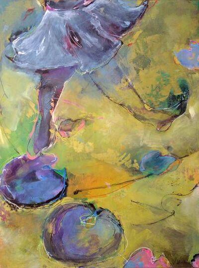 Vicki Vinton, 'Degas' Ballerinas Skipping Over Monet's Water Lilies'