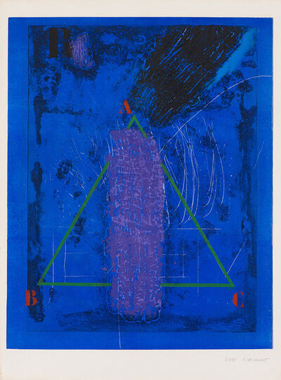 James Coignard, 'Verticale Violette', 1987
