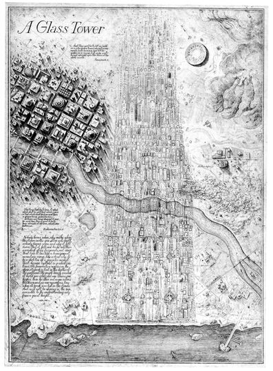 Brodsky & Utkin, 'A Glass Tower', 1984-1990