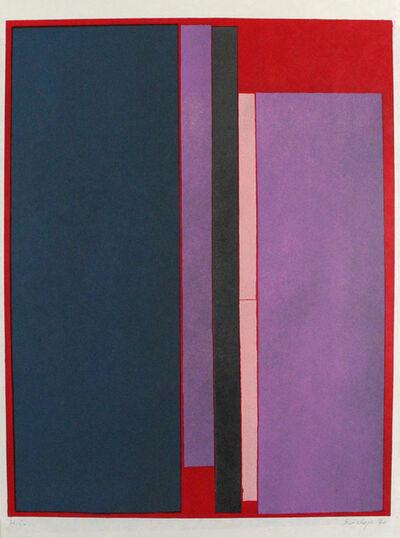 Toti Scialoja, 'Composizione a colori', 1970