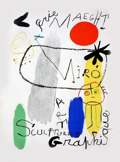 Joan Miró, 'Affiche d'Exposition Galerie Maeght', 1950