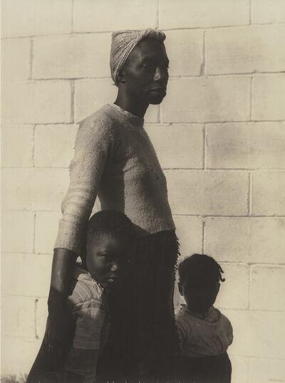 Consuelo Kanaga, 'She is a Tree of Life to Them', 1950