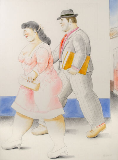 Fernando Botero, 'The Street', 2010