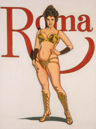 Mel Ramos, 'Roma - Empress of the Ancient World', 1963