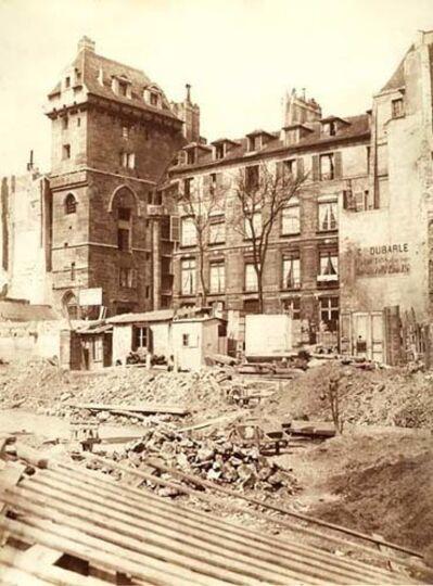 Charles Marville, 'Tour de Jean-sans-Peur, Paris', 1865c/1865c