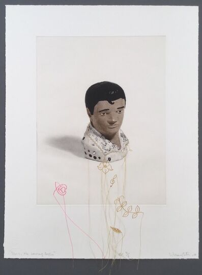 Liliana Porter, 'Elvis: the sewing lesson', 2010